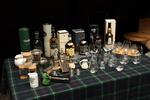 Das Line-Up des Scotch Whisky Evening