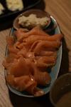 Vorspeise 2: geräucherter Lachs